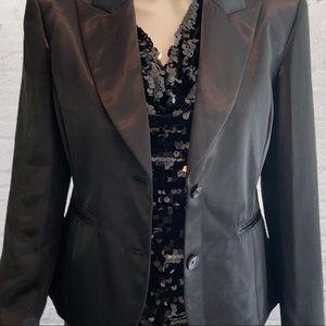 MICHAEL Michael Kors Satin Black Jacket NW…